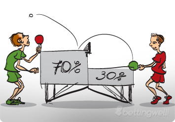 Table tennis betting tips super bowl betting bodog blackjack