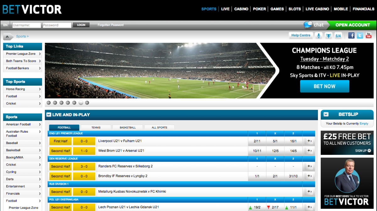 BetVictor-bookmaker