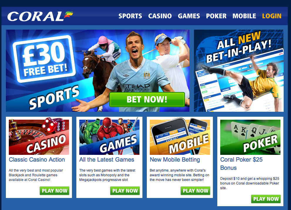 Coral each way betting rules on blackjack wap sbobet com mobile betting station