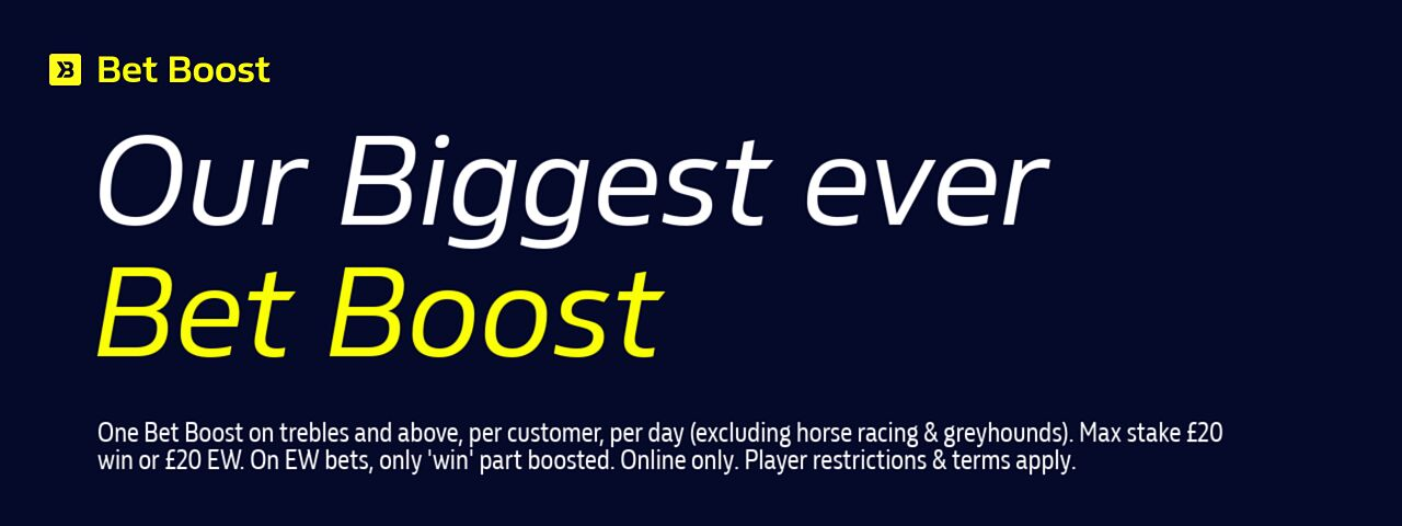 Biggest Ever Bet boost william hill