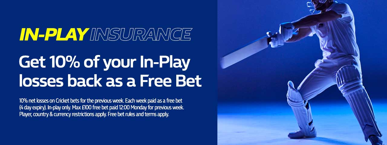 william hill cricket promotion