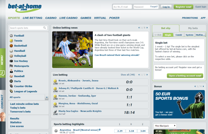 Bet-at-home bookmaker 2