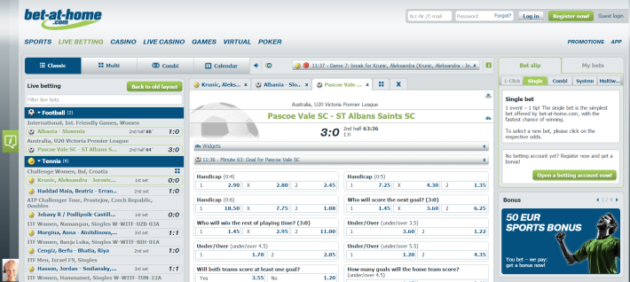 Bet-at-home bookmaker 3