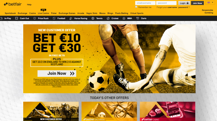 Betfair Bookmaker 1