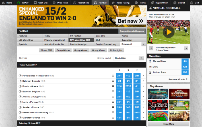 Betfair Bookmaker 2