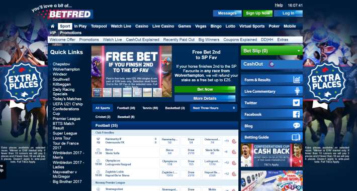 Betfred bookmaker 2