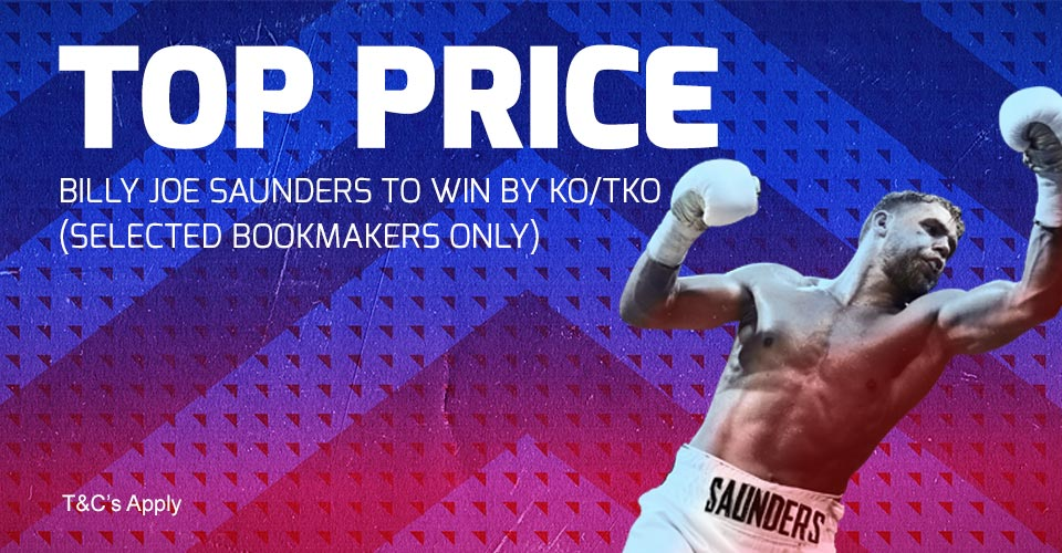 bookmaker betfred boxing top price offer