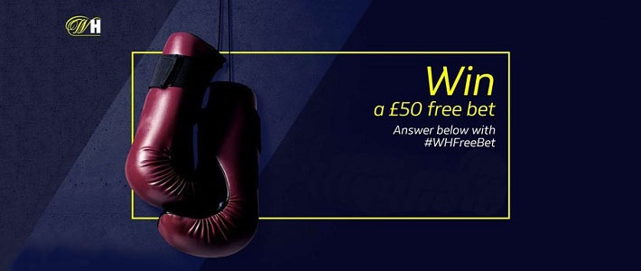 bookmaker william hill boxing twitter promotion