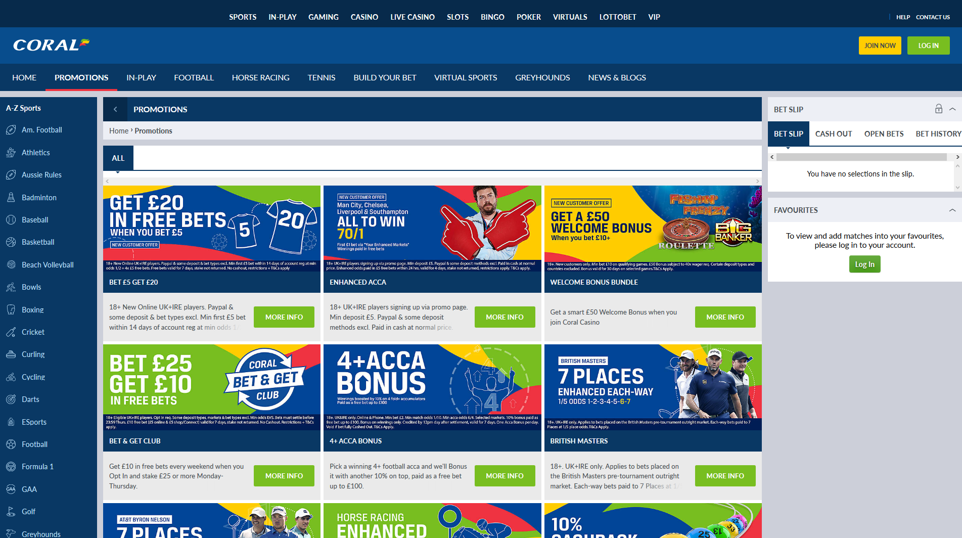 Coral bookmaker review  Coral English bookmaker