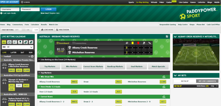 Paddy Power Bookmaker 3