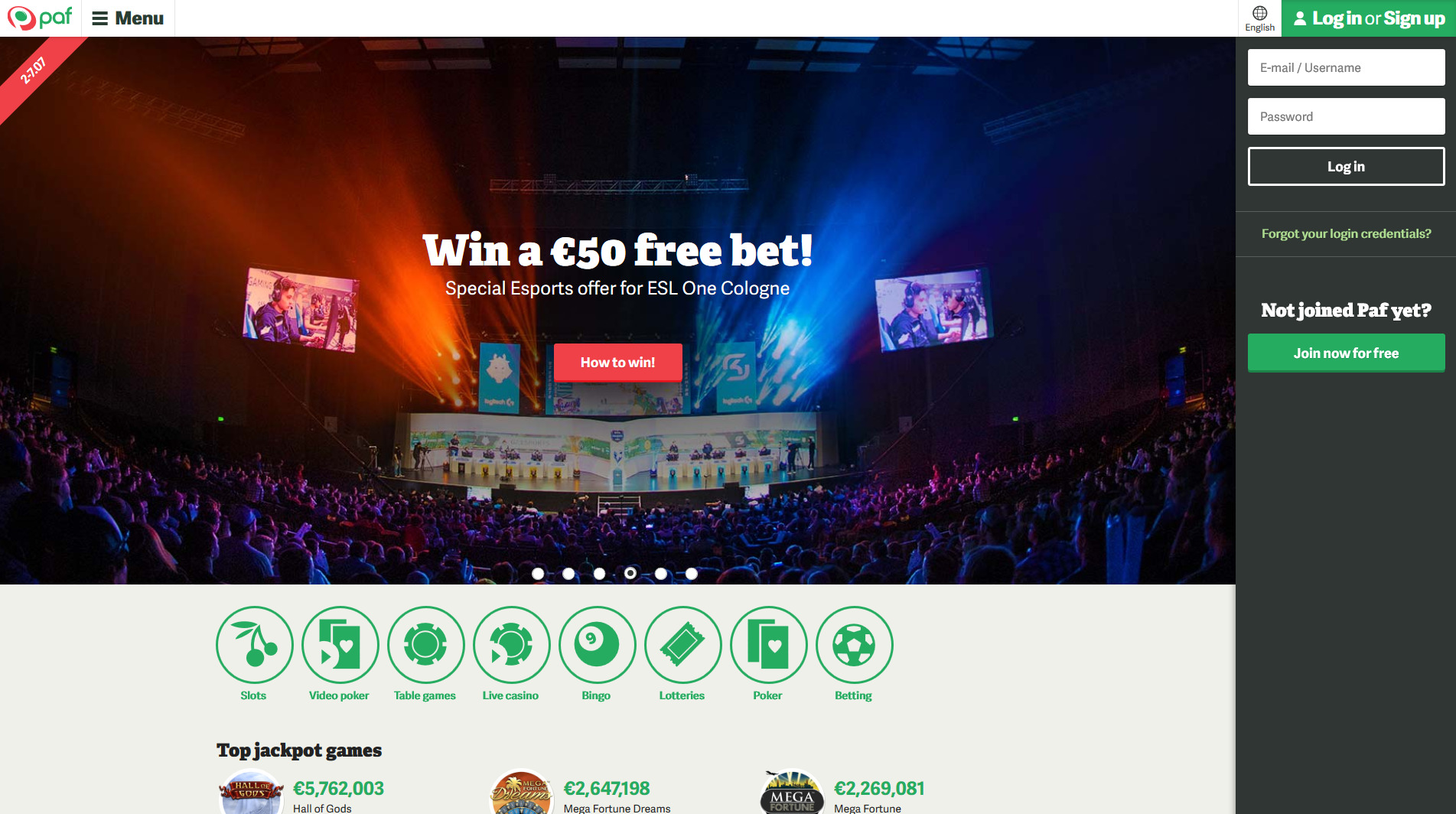 paf sports betting