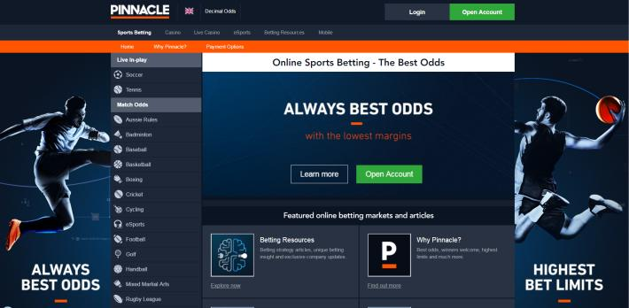 Pinnacle Bookmaker