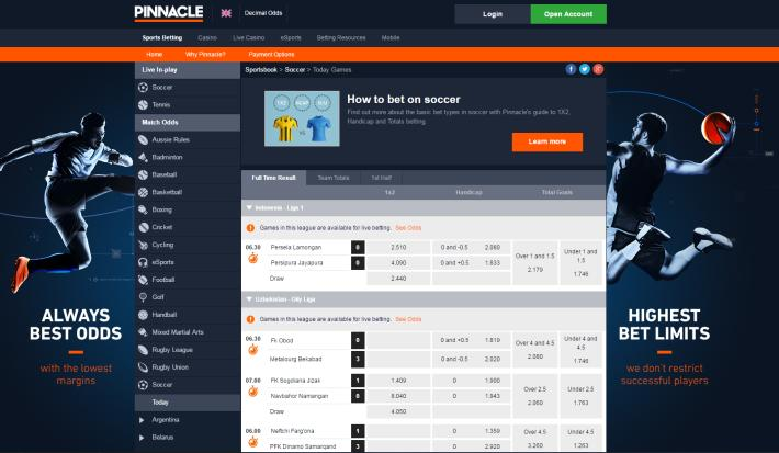 Pinnacle Bookmaker 2
