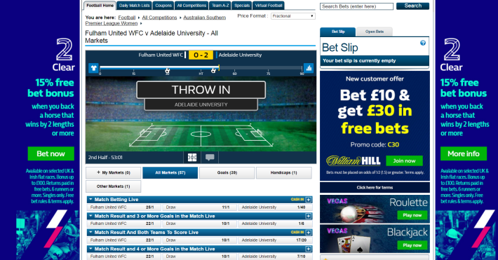 William Hill Bookmaker 3