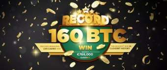 A punter hit the jackpot and broke the bank in Cloudbet casino