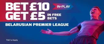 betfred belorussian premier league bonus