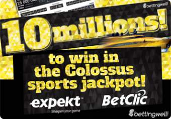 Expekt Colossus sports lottery