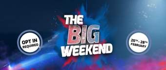 bookmaker betfred big weekend promotion