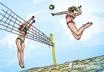 Beach volleyball betting
