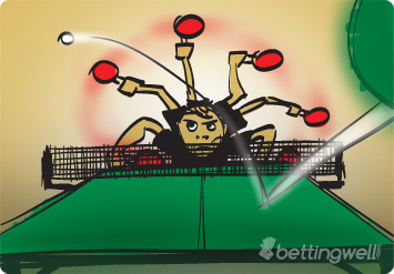 Betting on table tennis bitcoins stock chart