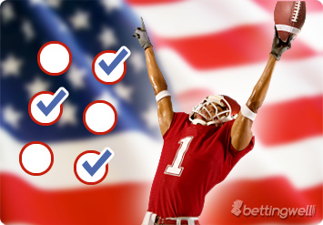 American football betting